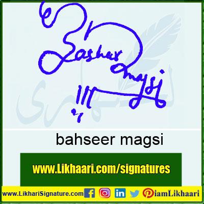 bahseer-magsi--Signature-Styles