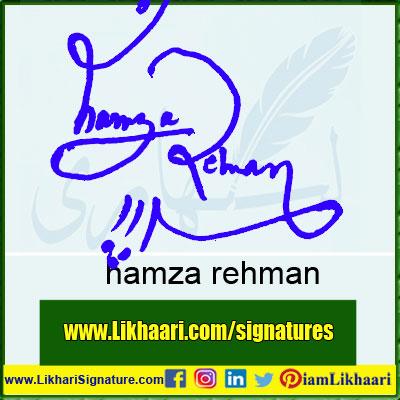 hamza-rehman-Signature-Styles