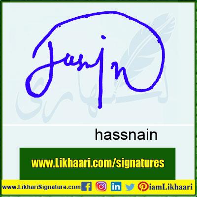 hassnain-Signature-Styles