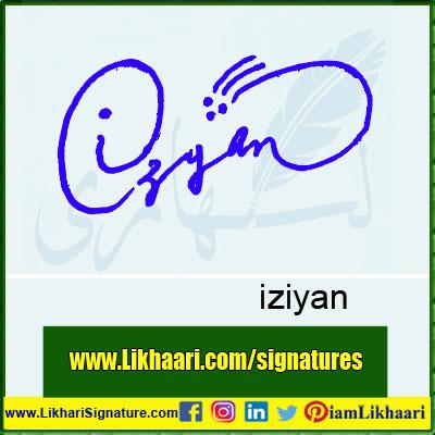 iziyan-Signature-Styles