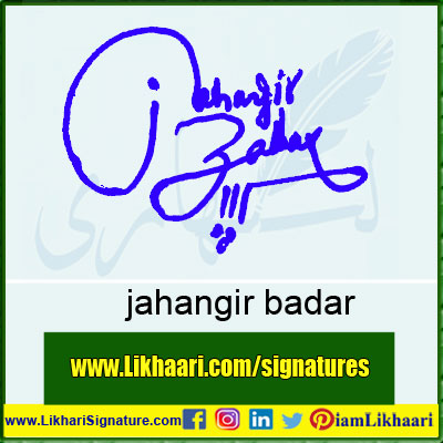 jahangir-badar-Signature-Styles