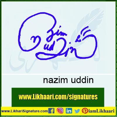 nazim-uddin-Signature-Styles