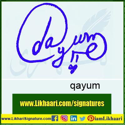 qayum-Signature-Styles