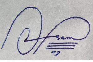Signature Style For Azam