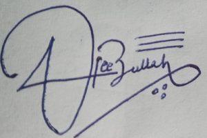 Signature Style For HafeezUllah