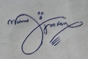 Signature Style For Muhammad Imran