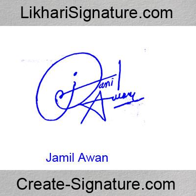 Jamil Awan Signature Style