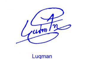 Luqman Signature Style
