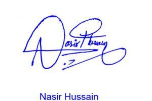 Nasir Hussain Signature Style