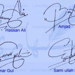 Handwritten Signature Generator