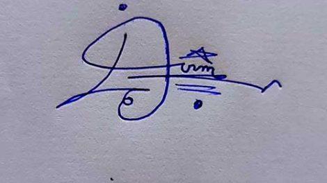Imran Name Handwritten Signature