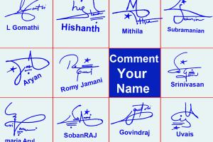 Handwritten Signature Online