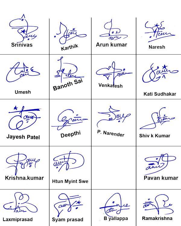 Online Signature Free
